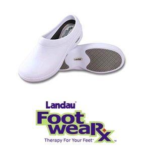 Landau FootweaRX white slip resistant pro shoes